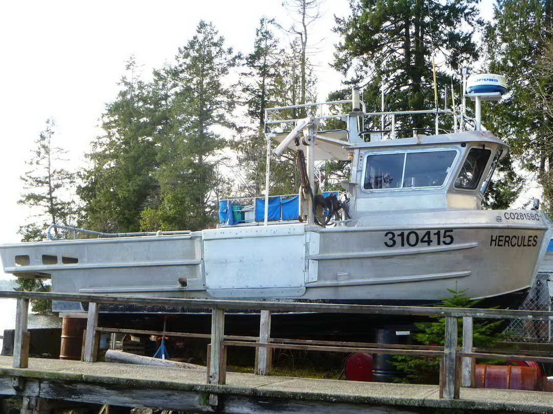 Northwest Aluminum Craft Crab Prawn Boat image 0