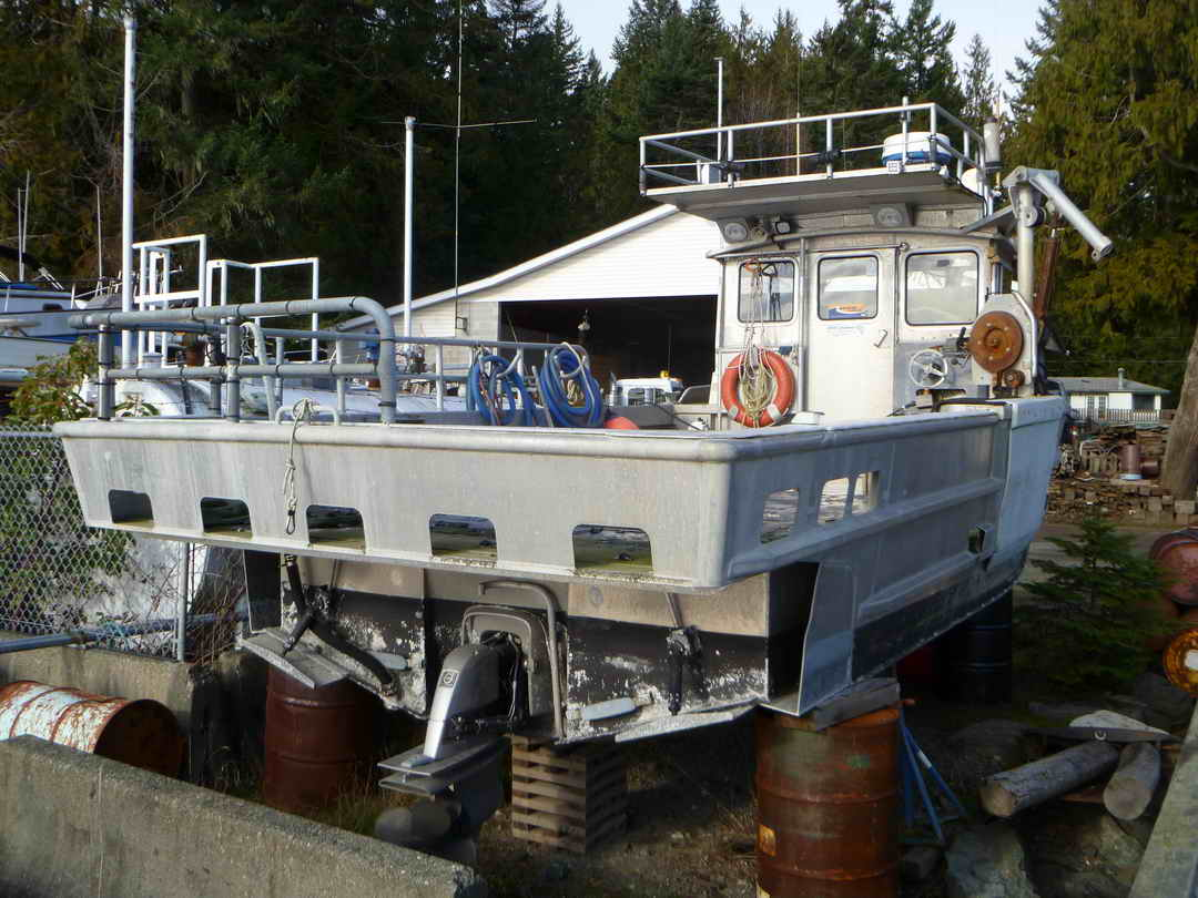 Northwest Aluminum Craft Crab Prawn Boat image 4