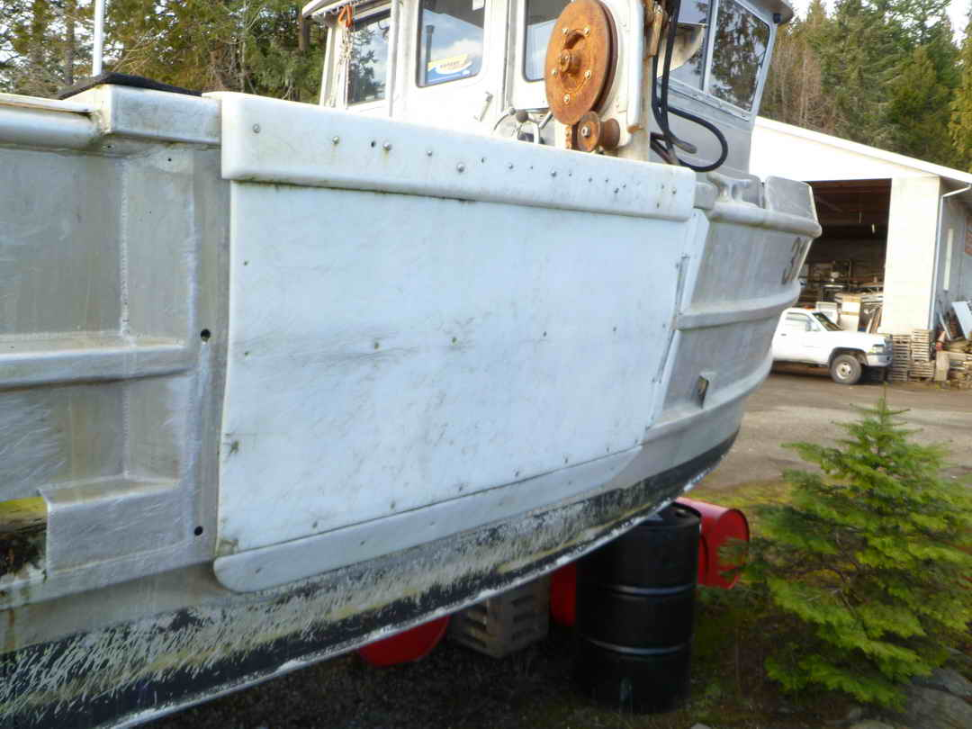 Northwest Aluminum Craft Crab Prawn Boat image 7