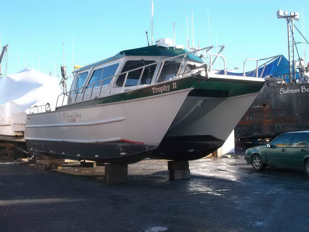 Aluminum Pilothouse Fishing Charter image 1