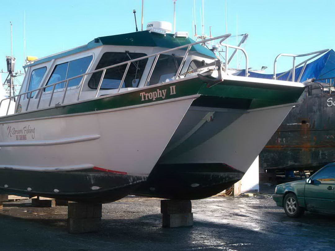 Aluminum Pilothouse Fishing Charter image 2