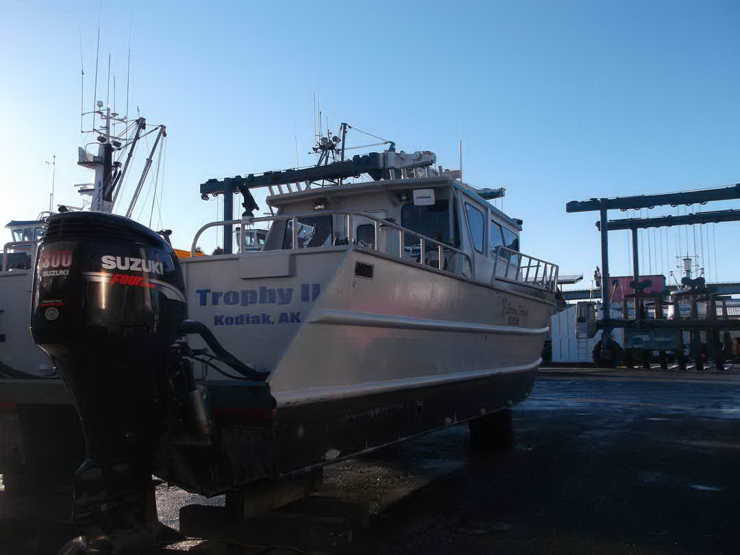 Aluminum Pilothouse Fishing Charter image 4