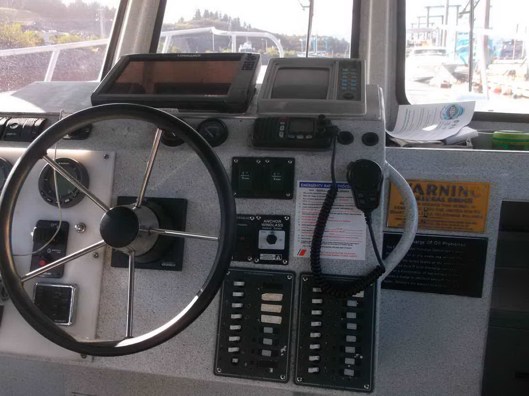 Aluminum Pilothouse Fishing Charter image 10