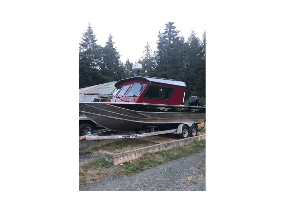 Aluminum Weldcraft Sport Fishing Boat image 1