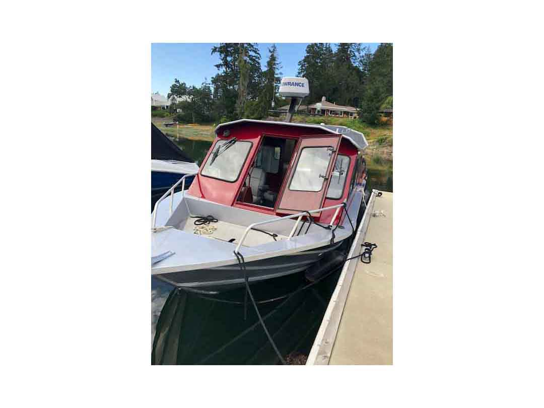Aluminum Weldcraft Sport Fishing Boat image 4
