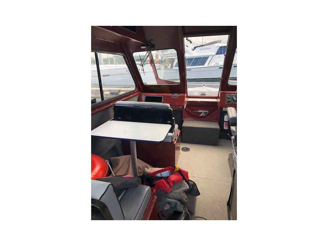 Aluminum Weldcraft Sport Fishing Boat image 11