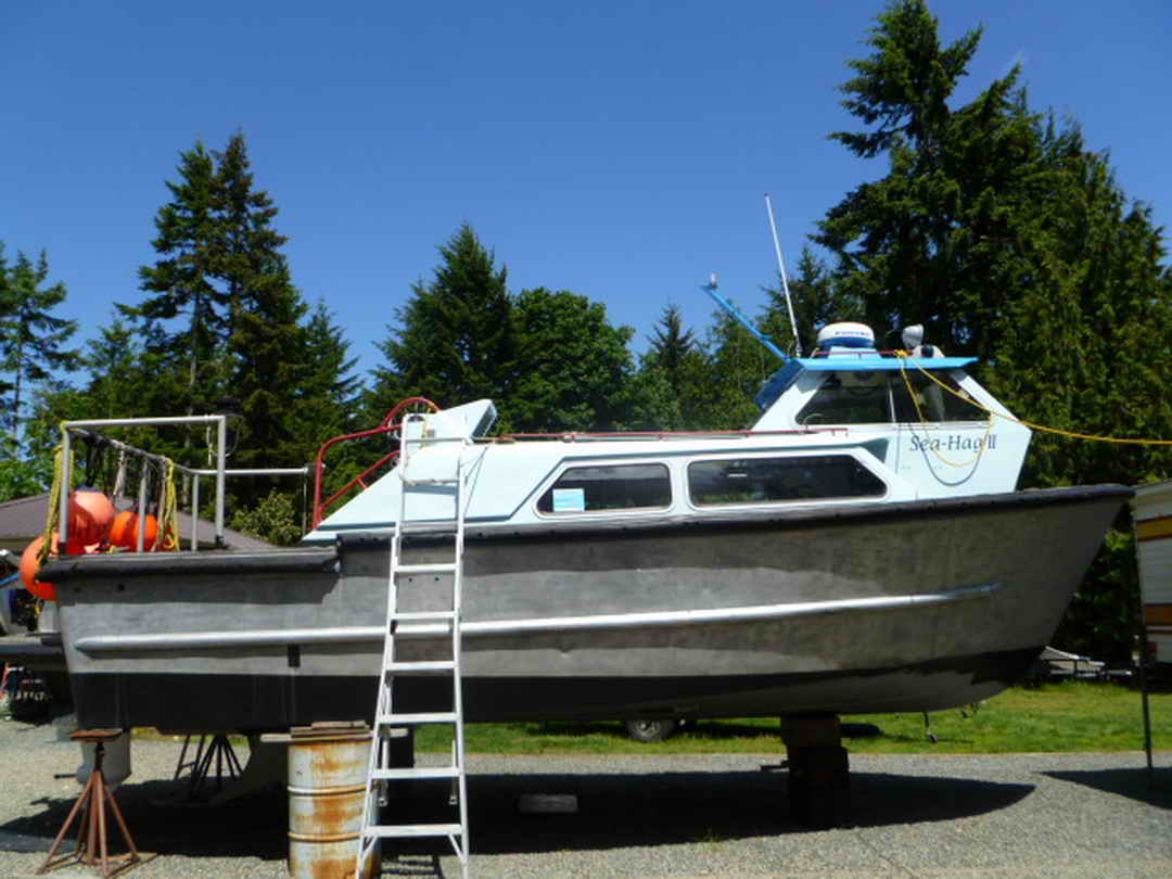 Aluminum Boats For Sale Bc >> Aluminum Crew Boat Water Taxi