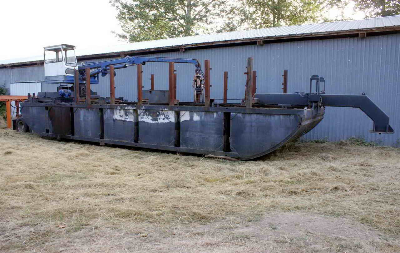 Steel Portable Barge image 0