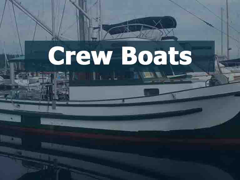 Used Crew Boats For Sale