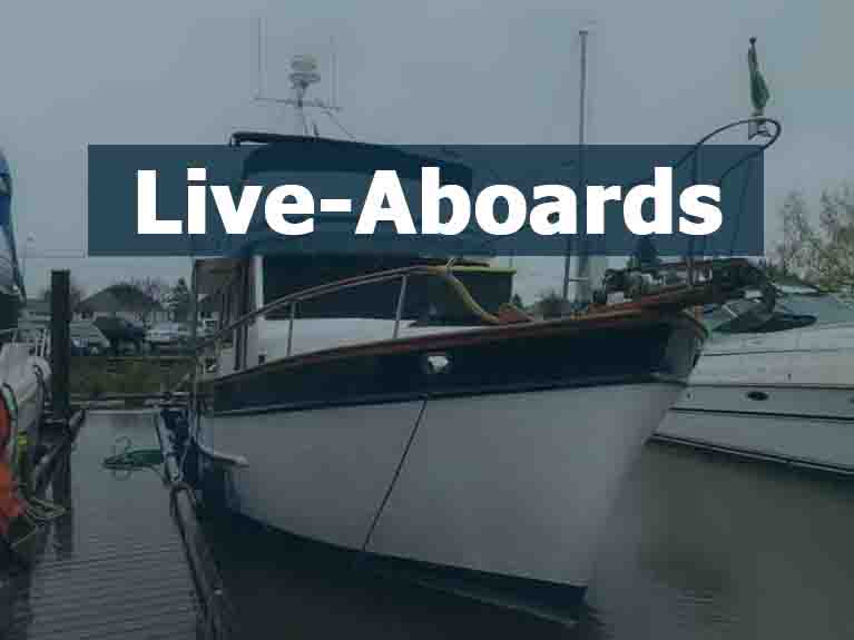 Used Live-Aboards For Sale